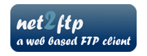 Try webftp app - contact us for more info!